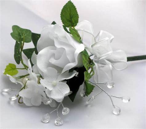 CREAM, IVORY & WHITE Corsages : DebbieCoFlowers.com, Silk Wedding Bouquets   Silk Bridal