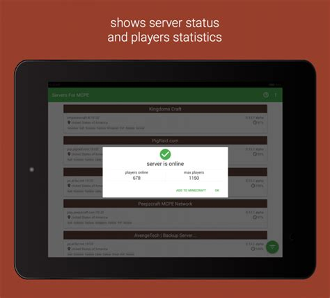 mcpe best server servers for mcpe apk for android aptoide