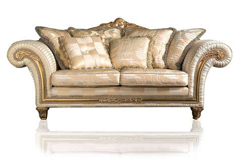 divani in stoffa classici divano classico imperial in stoffa avorio vimercati meda
