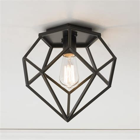 Geometric Light Fixtures House Geometric Ceiling Light Flush Mount Ceiling Lighting By Shades Of Light
