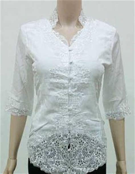Hem Putih Polos Pendek No L7 Jual Baju Kerja Kantor Warna Putih Polos Baju Batik
