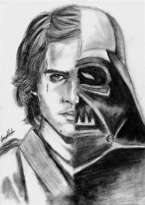How To Draw Anakin Skywalker