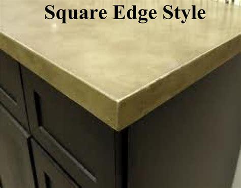 countertop styles granite countertop inc edge style