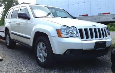 wrecked black jeep grand cherokee sell used 2008 jeep grand cherokee laredo suv 4 door 3 7l