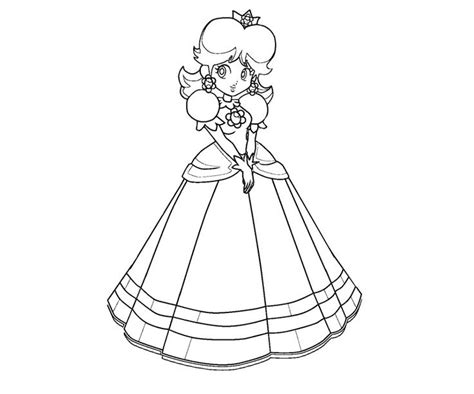 coloring pages of daisy from mario 35 best mario pages for hunt to color images on pinterest