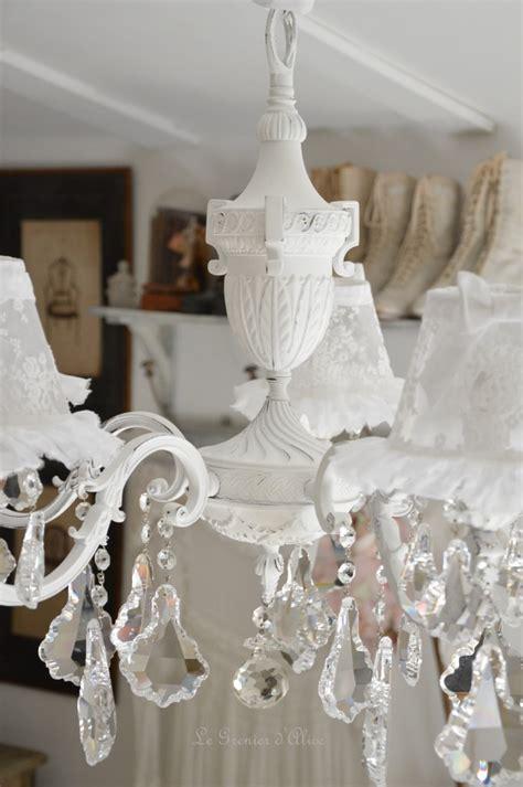 Antique Chandelier Le Grenier D Alice Shabby Chic Et Romantique French Decor