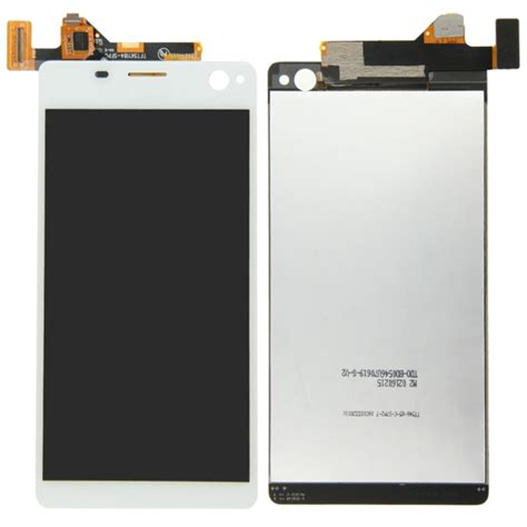 Lcd Touchscreen Sony Xperia C4 lcd display touch screen digitizer assembly replacement for sony xperia c4 white alex nld