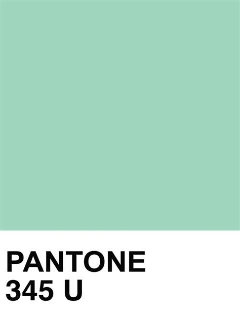pantone s pantone 345 u color swatch c is for color pinterest