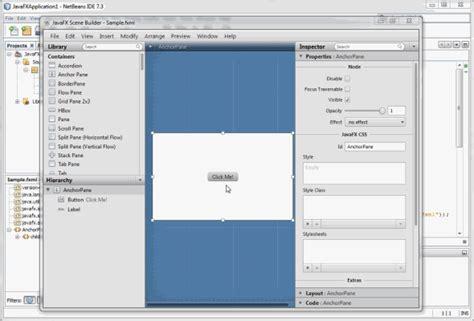 tutorial javafx scene builder java buddy javafx scene builder tutorial updated wth