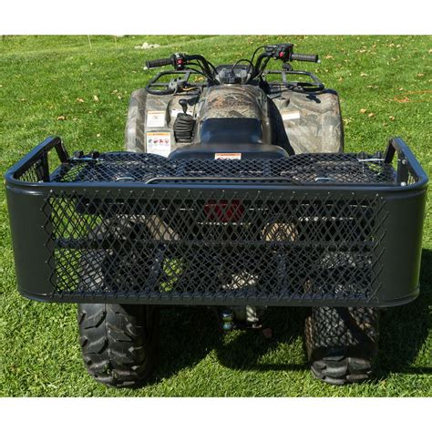 steel mesh atv rear rack drop basket atvdb 4315 discount