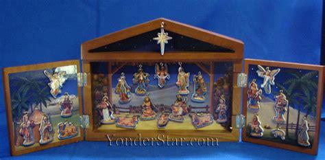 fontanini wooden advent calendar fontanini advent