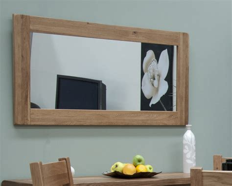 wall mirror living room solid oak hallway living room furniture large wall mirror ebay