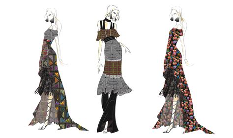 Home Decor Trends Spring 2017 Fashion Sketches By Nicole Miller For Ss 17 Nyfw