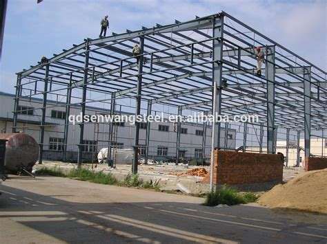 sturcture sheet metal h alibaba china building shed prefabricated structure steel