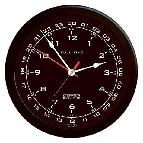 format date zulu trintec zulu time 14 quot dual clock