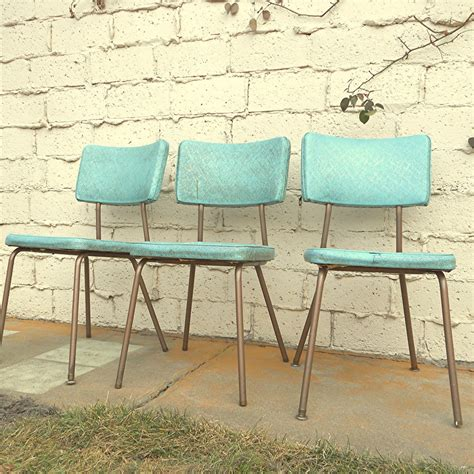 vintage kitchen chairs vintage kitchen chairs three vinyl turquoise chairs local