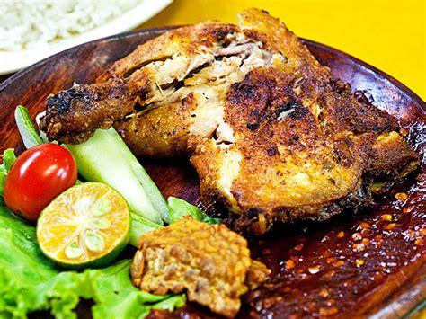 Ayam Goreng Penyet Bumbu Ketumbar resep membuat ayam penyet sambal enak tips cara net