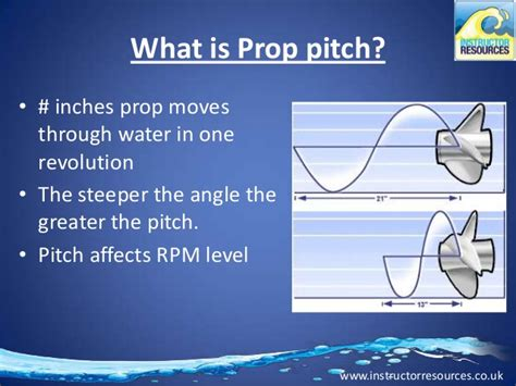 boat propeller pitch chart propeller diameter pitch choosing the right prop for
