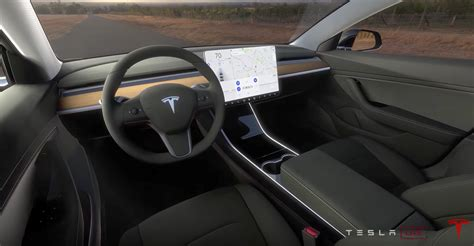 tesla model 3 interior 2017 4 highlights from motor trend s tesla model 3 test drive cleantechnica