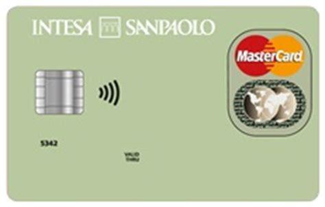 carte banca intesa carta pensione intesa sanpaolo canone azzerato per gli
