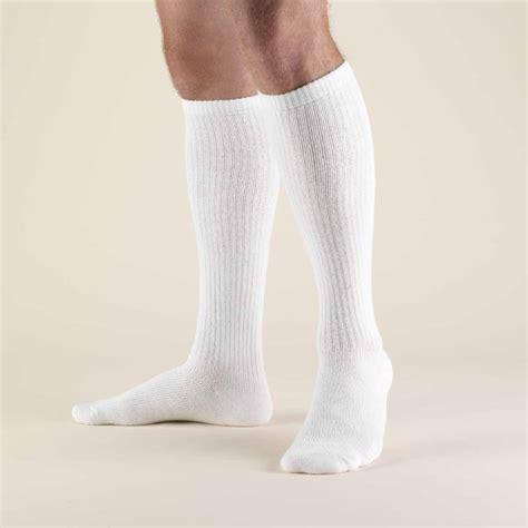 diabetic socks truform trusoft 8 15 mmhg diabetic knee length socks
