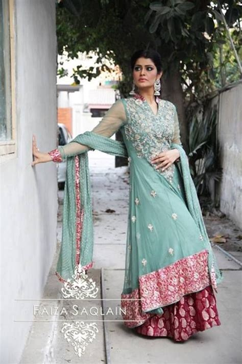 Faiza Dress by Faiza Saqlain Beautiful Wear Dresses 2014 For
