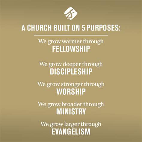 purpose driven life church