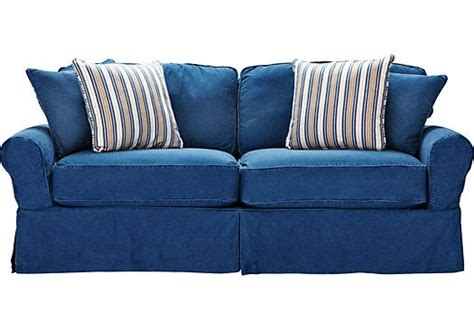 rooms to go sleeper sofa shop for a cindy crawford home beachside blue denim