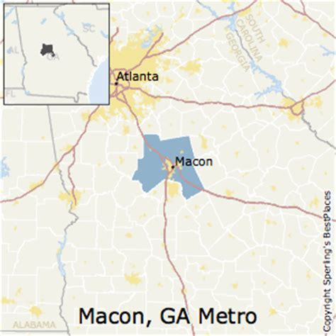 best places to live in macon metro area