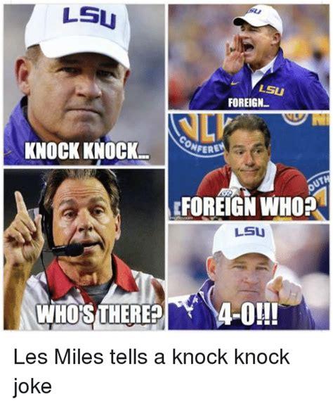 Les Miles Memes - funny knock knock jokes memes of 2016 on sizzle