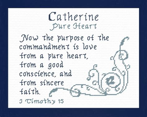 name blessings catherine 3 personalized names with