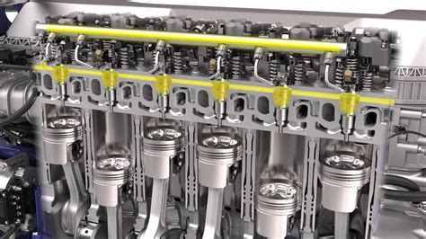 volvo trucks common rail fuel system youtube