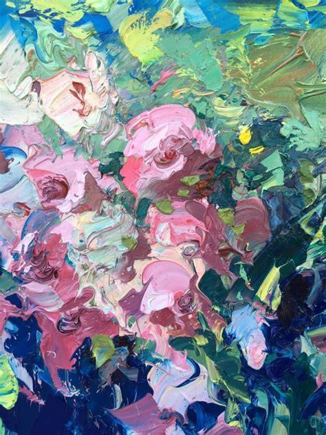 fiori astratti pittura oltre 25 fantastiche idee su pittura di fiori a olio su