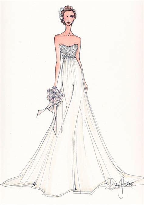 fashion illustration wedding dresses wedding dress formal dress pencil and in color wedding dress formal dress