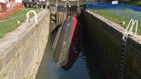 party boat worcester welsh stag party s barge capsizes in bath wales itv news
