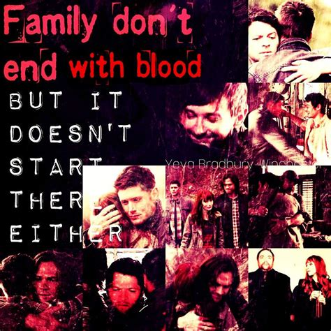 family don t end with blood tattoo family don t end with blood supernatural amino