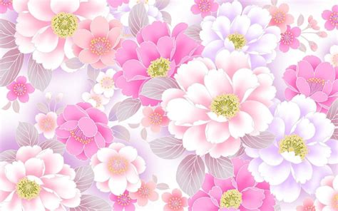flower pattern desktop wallpaper floral desktop backgrounds wallpaper cave