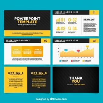 powerpoint presentation template size business presentation template of geometric shapes vector