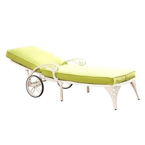 white chaise lounge cushion white chaise lounge chair green apple cushion 5552 831
