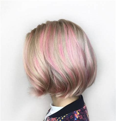 cute peekaboo highlights top 10 cute pastel shades new hair color ideas trends