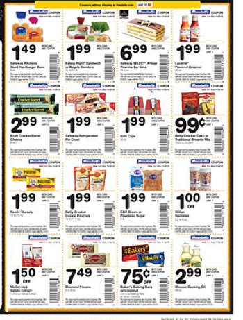 printable food coupons walmart this is a huge full page of in store coupons in my safeway