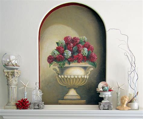 decorative ideas anythingology how do you decorate a wall niche