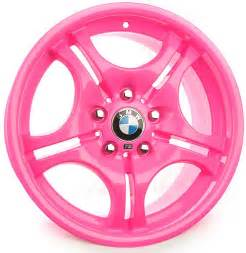 Wheels Pink Truck Bmw Custom Pink Powder Coat Rims Bmw Parts And Service