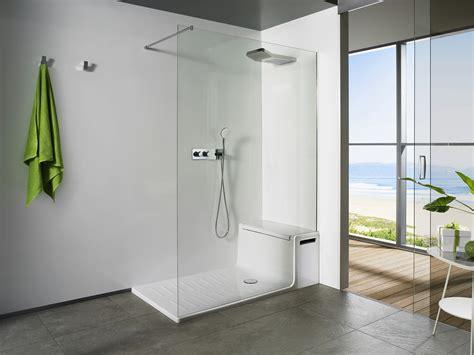 doccia con sedile roca trasforma lo spazio doccia con hide seat