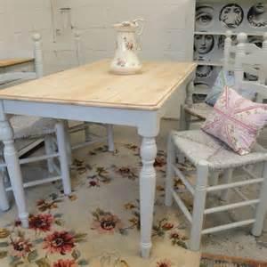 shabby chic farmhouse table shabby chic farmhouse table and 4 chairs folksy