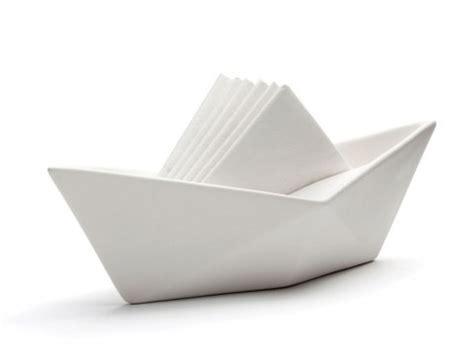 Origami Napkin Holder - set sail napkin holder