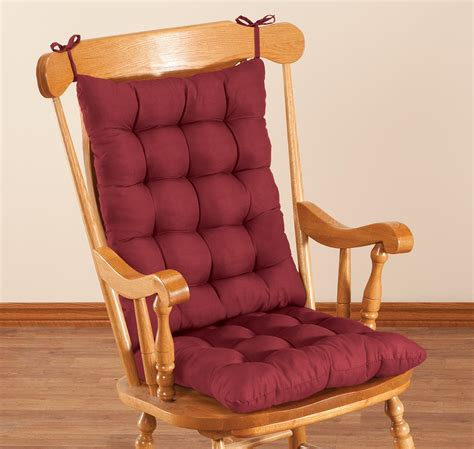 microfiber rocking chair cushion set  oakridgetm ebay