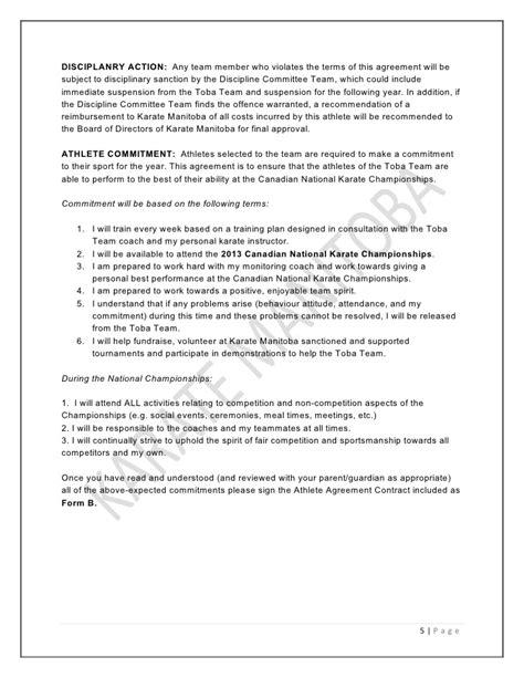Exelent Martial Arts Contract Template Sketch Resume Ideas Namanasa Com Martial Arts Contract Template