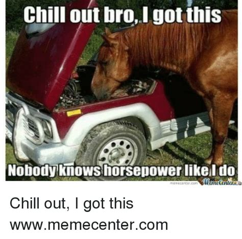 Chill Out Bro Meme - 25 best memes about chill out i got this chill out i got this memes
