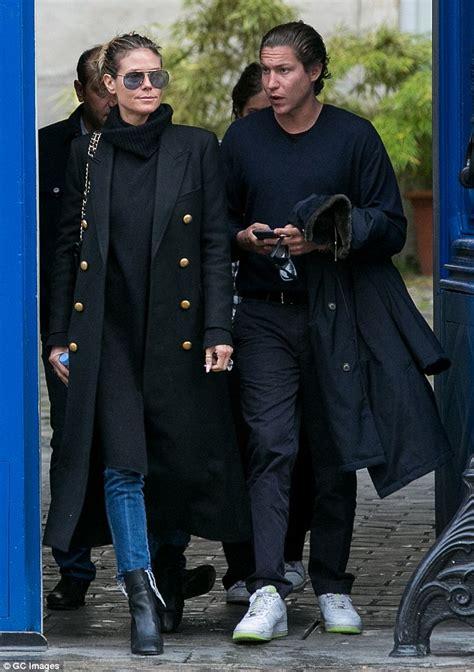 Heidi Klum Is A Handsome Fellow by Heidi Klum Seen Out With Boyfriend Vito Schnabel In